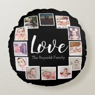 Make Your Own Custom Personalized Round Pillow