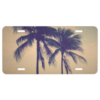 Make your own custom photo car license plates