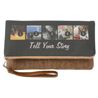 Make your own decor easily with 5 images on a clutch