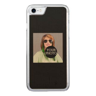 Make your own decor easily with your image on a carved iPhone 8/7 case