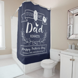 Make Your Own Father's Day No. 1 Dad Cute Monogram