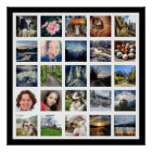 Make Your Own Instagram Photo Gallery Style Poster