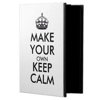 Make your own keep calm - black powis iPad air 2 case