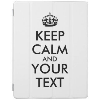 Make Your Own Keep Calm Customized ipad Air Cover