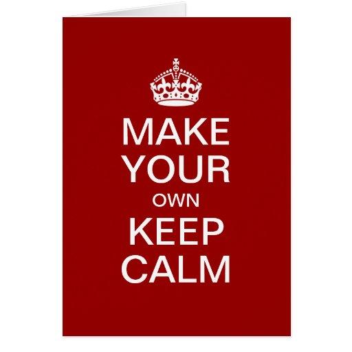Free Keep Calm Template Autos Post