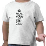Make Your Own Keep Calm Kids Shirt (Template)