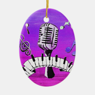 Make Your Own Music Ceramic Ornament