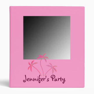 Make Your Own Palm Trees Photo Album 3 Ring Binder