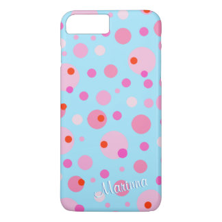 MAKE YOUR OWN, POLKADOT CUSTOMIZABLE  iPhone Case