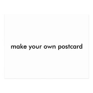 make your own postcard template