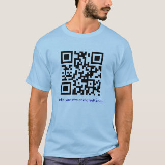 Make your own QR code shirt