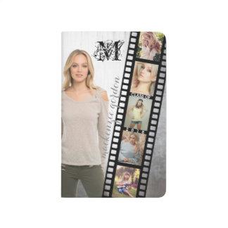 Make Your Own Senior Portrait Retro Film Negative Journals