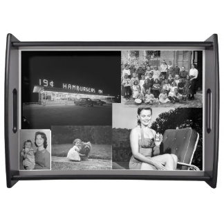 Make Your Own Vintage Photo Serving Tray