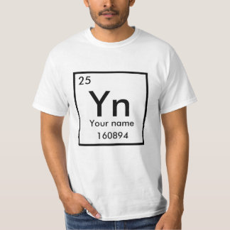 Make your poster of chemical element T-Shirt