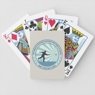 Make Your Shot Count Bicycle Playing Cards