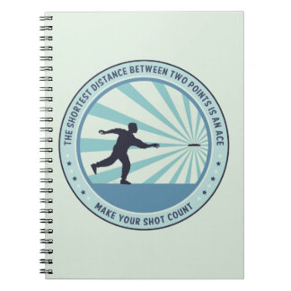Make Your Shot Count Spiral Note Book