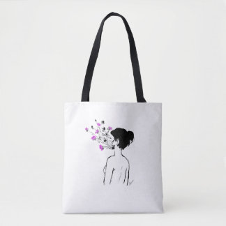 Make yourself flourish tote bag