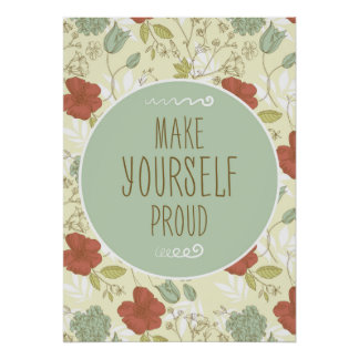 Make Yourself Proud Poster