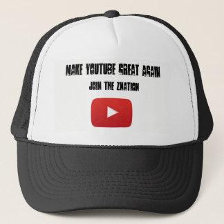 Make Youtube great again Trucker hat