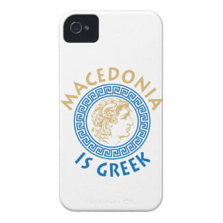 MAKEDONIA IS GREEK - ALEXANDROS Case-Mate iPhone 4 CASES