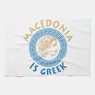 MAKEDONIA IS GREEK - ALEXANDROS KITCHEN TOWEL
