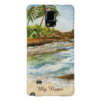 Makena Cove Hawaii Beach Fine Art Watercolor