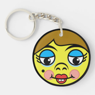 Makeover Face Keychain