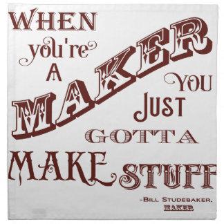 Maker Napkin