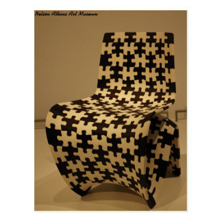 """Makerchair Jigsaw"" - Art Museum Postcard"