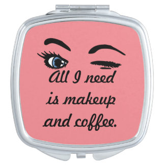 Makeup and Coffee Vanity Mirrors