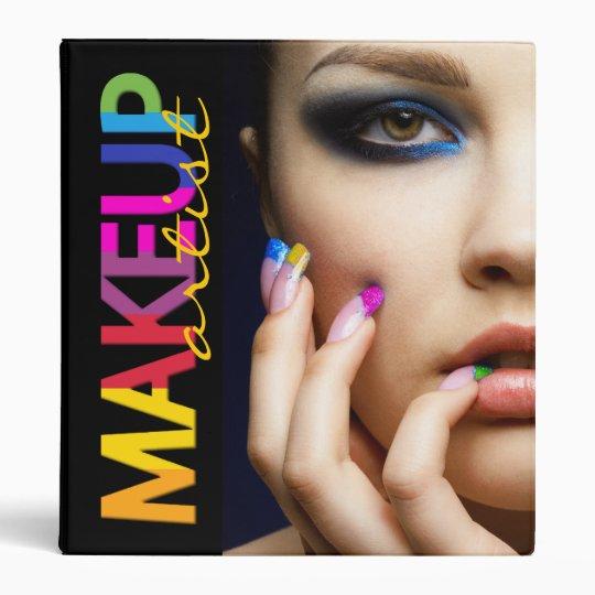 Makeup Artist Appointment Binder