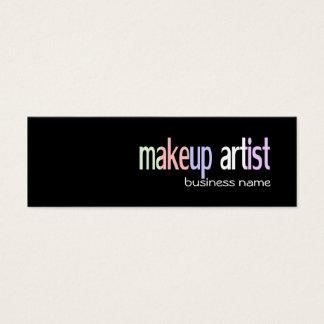 Makeup artist/beauty salon Business Card Template