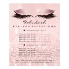 Makeup Artist Beauty Salon Wellness Flyer Pink SPA