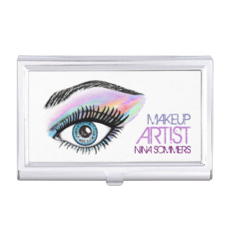 Makeup Artist Business Card Holder