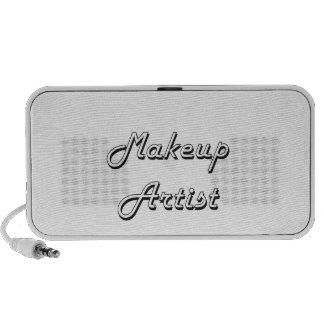 Makeup Artist Classic Job Design iPhone Speaker