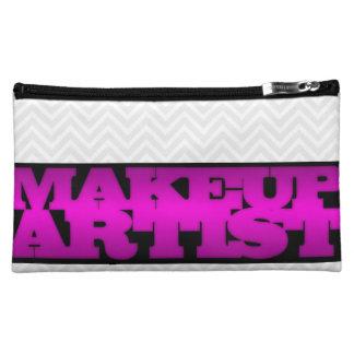 Makeup artist cosmetic bags