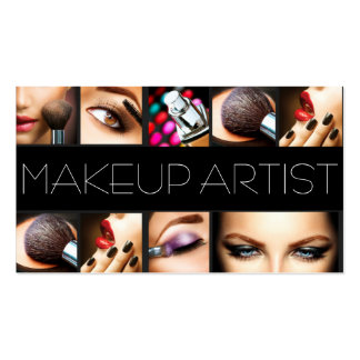 Makeup Artist Cosmetologist Nails Beauty Salon Pack Of Standard Business Cards