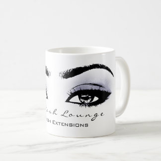 Makeup Artist Eyelash Extension Studio Eye Blue Coffee Mug