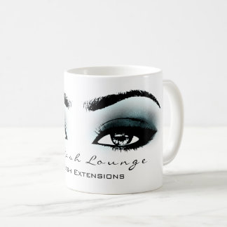 Makeup Artist Eyelash Extension Studio TealBlueEye Coffee Mug