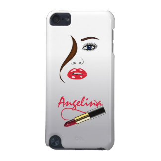 Makeup Artist Face and Lipstick in the Mirror iPod Touch 5G Cases