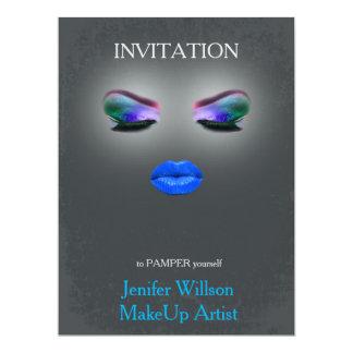 Makeup Artist Invitation