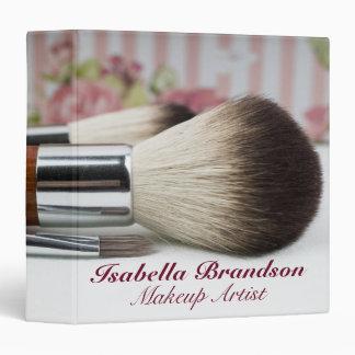 Makeup Artist Makeup Brushes Binder