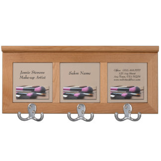 Makeup Artist Makeup Brushes Coat Racks
