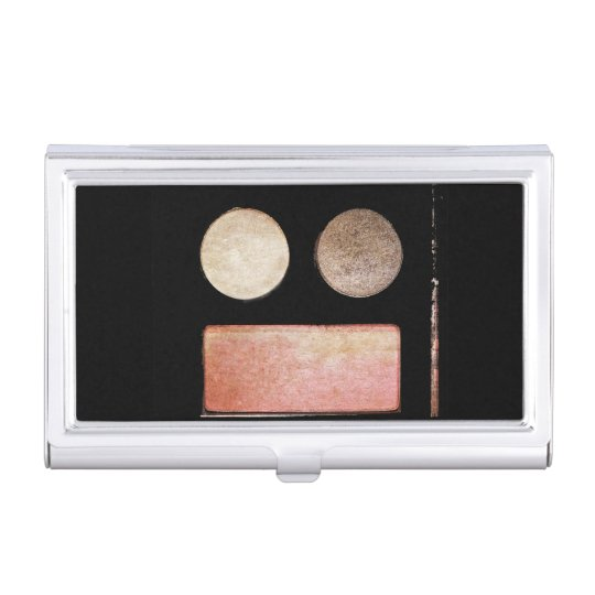 Makeup Artist Palette-Face by Shirley Taylor Business Card Holder