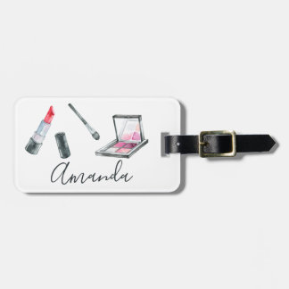 Makeup Artist Personalized Custom Art Luggage Tag