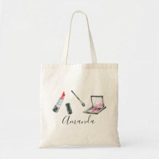Makeup Artist Personalized Custom Art Tote Bag