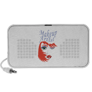 MAKEUP ARTIST iPhone SPEAKERS