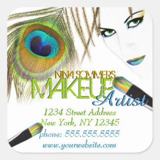 Makeup Artist Stickers