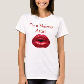 Makeup Artist Theme T-Shirt