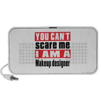 Makeup designer scare designs portable speakers
